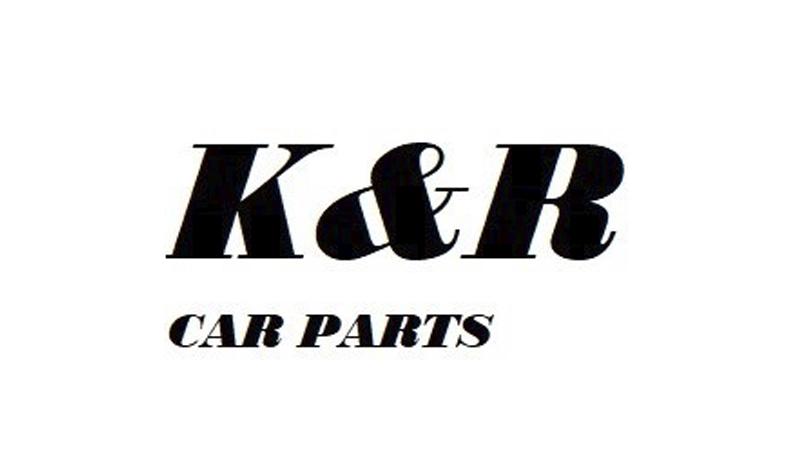 k&r car parts logo