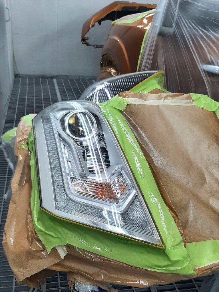 After LSR vehicle headlight restoration mudgee