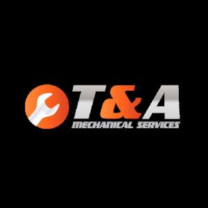 T & A mechanical services logo